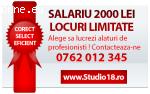 Salariu maxim plus comision! Studio18
