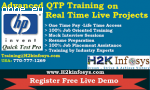 QTP Online Course In Atlanta