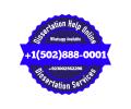 Dissertation Help, Dissertation Service, +1(502)888-0001