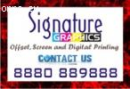 Signature Graphics offers personalised printed T-shirt | cap