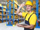 Работа на фабриких и складах в Англии