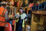 Складови работници-Великобритания