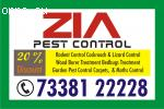 Pest Control Service Flat 40% Discount | 73381 22228 | Cockr
