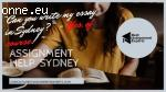 Professional Assignment help Services in Sydney Australia