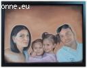 Ръчно рисувани портрети и карикатури по снимка
