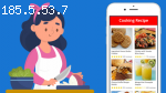 How much does it cost to develop a Cooking recipe App?