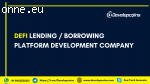 DeFi Lending/Borrowing Platform Development Company
