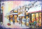 Christmass paintings for presents oil on canvas
