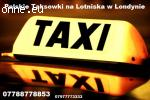 Polskie Taxi w Londynie na Lotniska - 07788778853