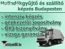 Hulladékgyűjtő és –szállító képzés - MOST jogosítvánnyal!